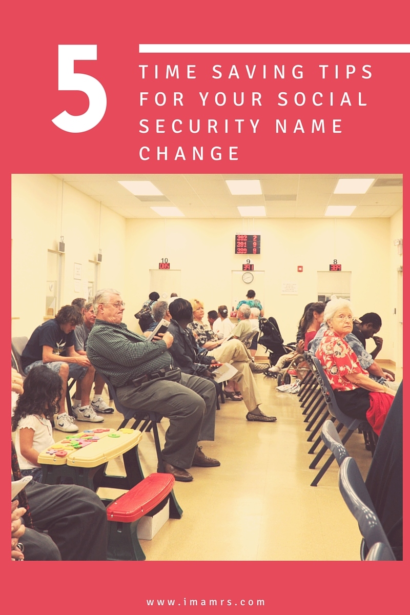Tips for Social Security Name Change